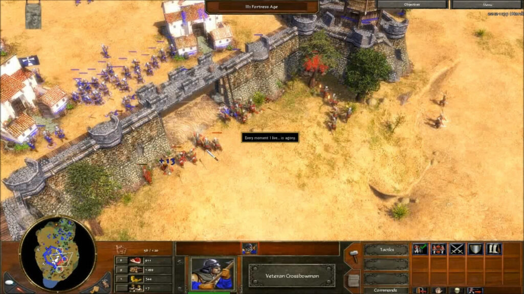 """""""Age of Empires 3"""" - Act I Ice - Mission 1: Breakout (2 of 5)"""