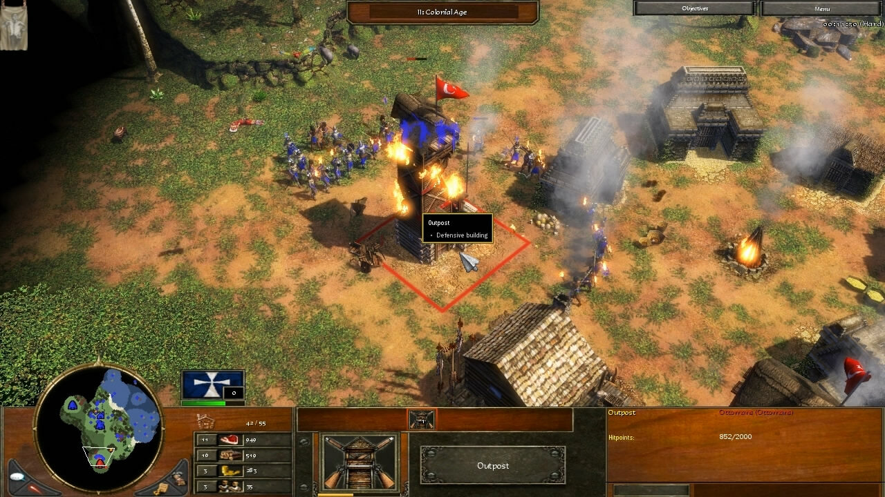 """Age of Empires 3"" - Act I Blood - Mission 4: The Ottoman Fort (3 of 5)"