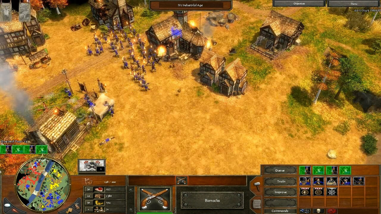 """""""Age of Empires 3"""" - Act II Ice - Mission 4: The Seven Years War (3 of 4)"""