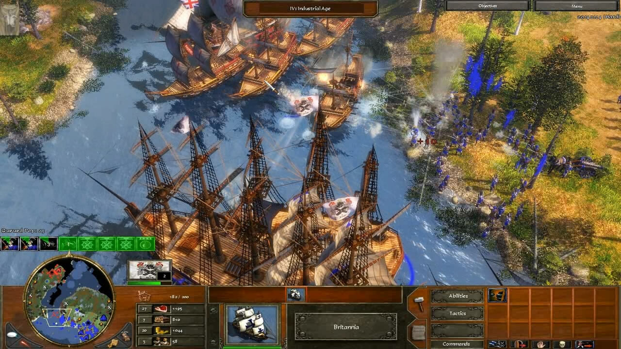 """""""Age of Empires 3"""" - Act II Ice - Mission 5: The Great Lakes (6 of 7)"""