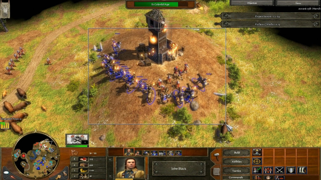 """""""Age of Empires 3"""" - Act II Ice - Mission 6: Respect (6 of 10)"""