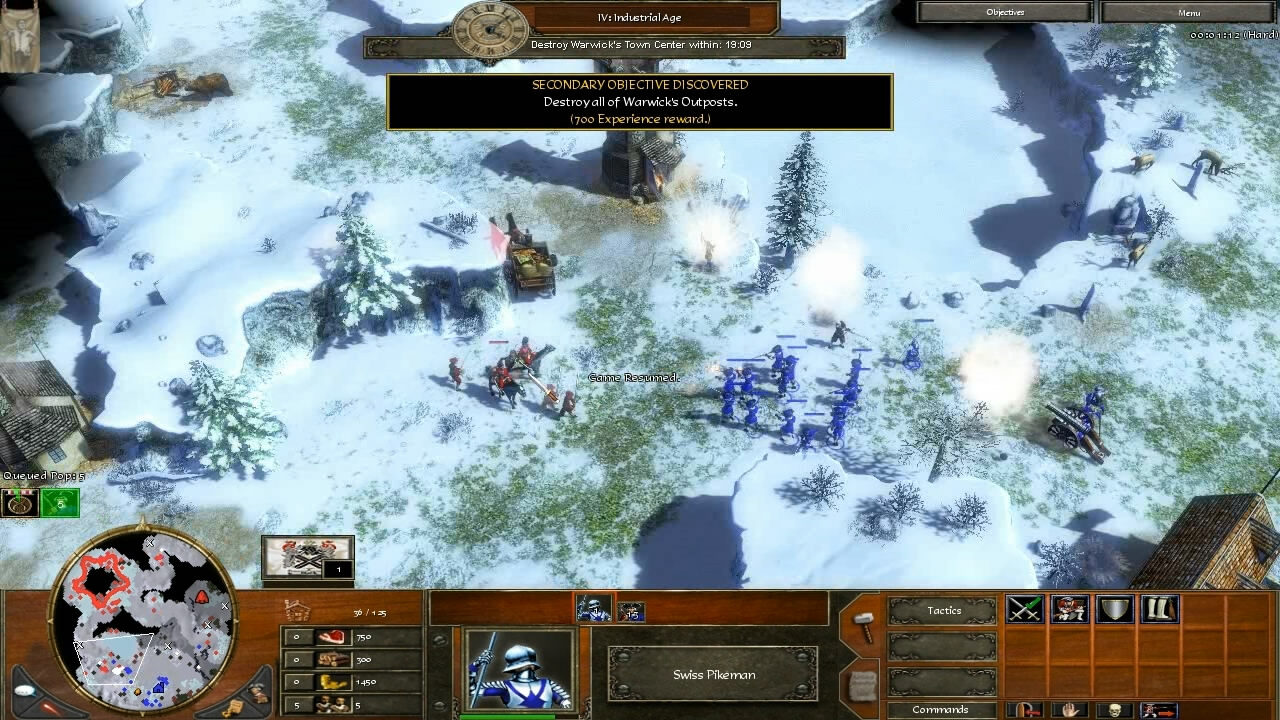 """""""Age of Empires 3"""" - Act II Ice - Mission 7: Warwick's Fort (3 of 8)"""