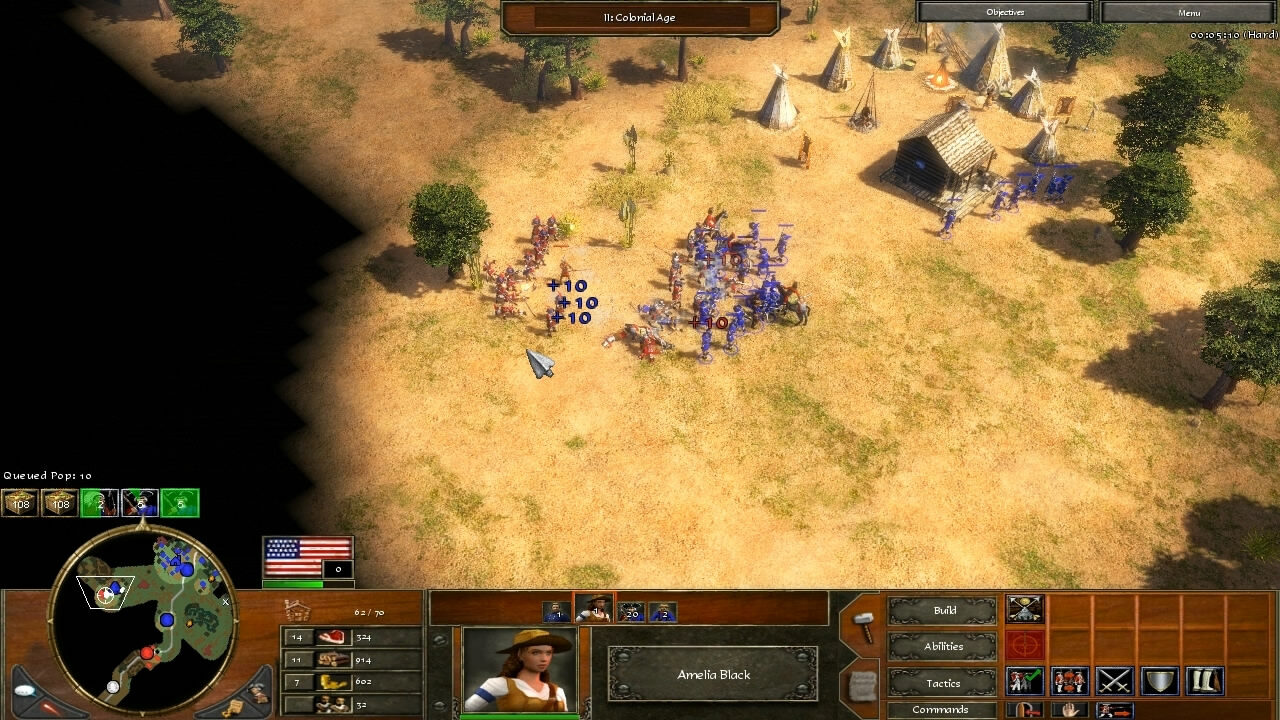 """""""Age of Empires 3"""" - Act III Steel - Mission 1: Race for the Rails (3 of 7)"""
