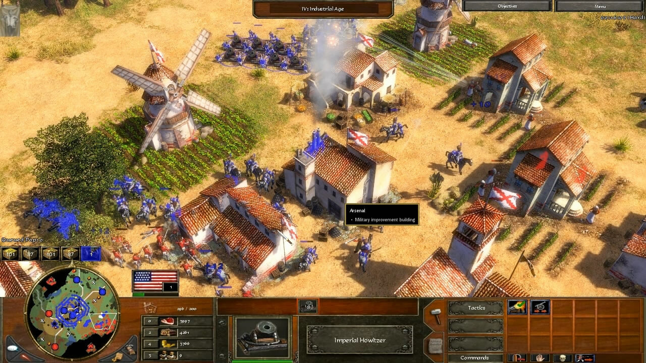 """Age of Empires 3"" - Act III Steel - Mission 2: Hold the Fort (4 of 5)"
