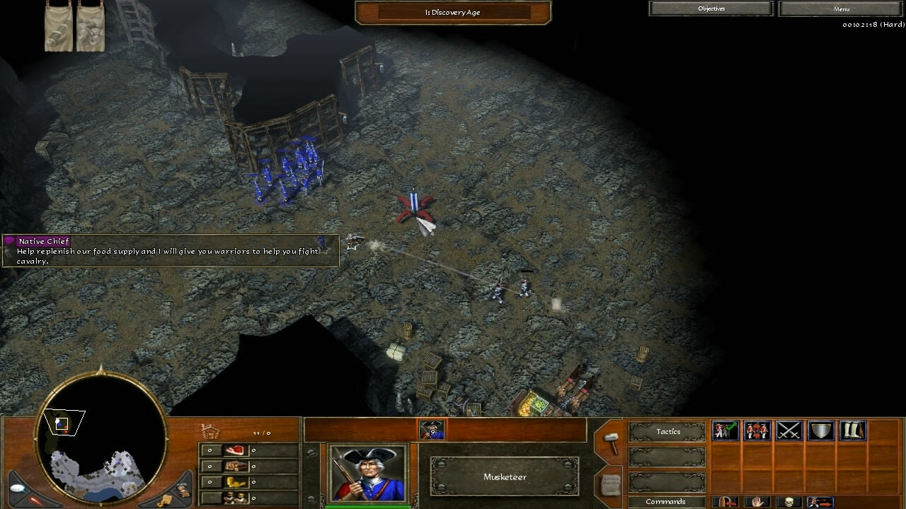 """""""Age of Empires 3"""" - Act III Steel - Mission 3: The Boneguard's Lair (1 of 7)"""