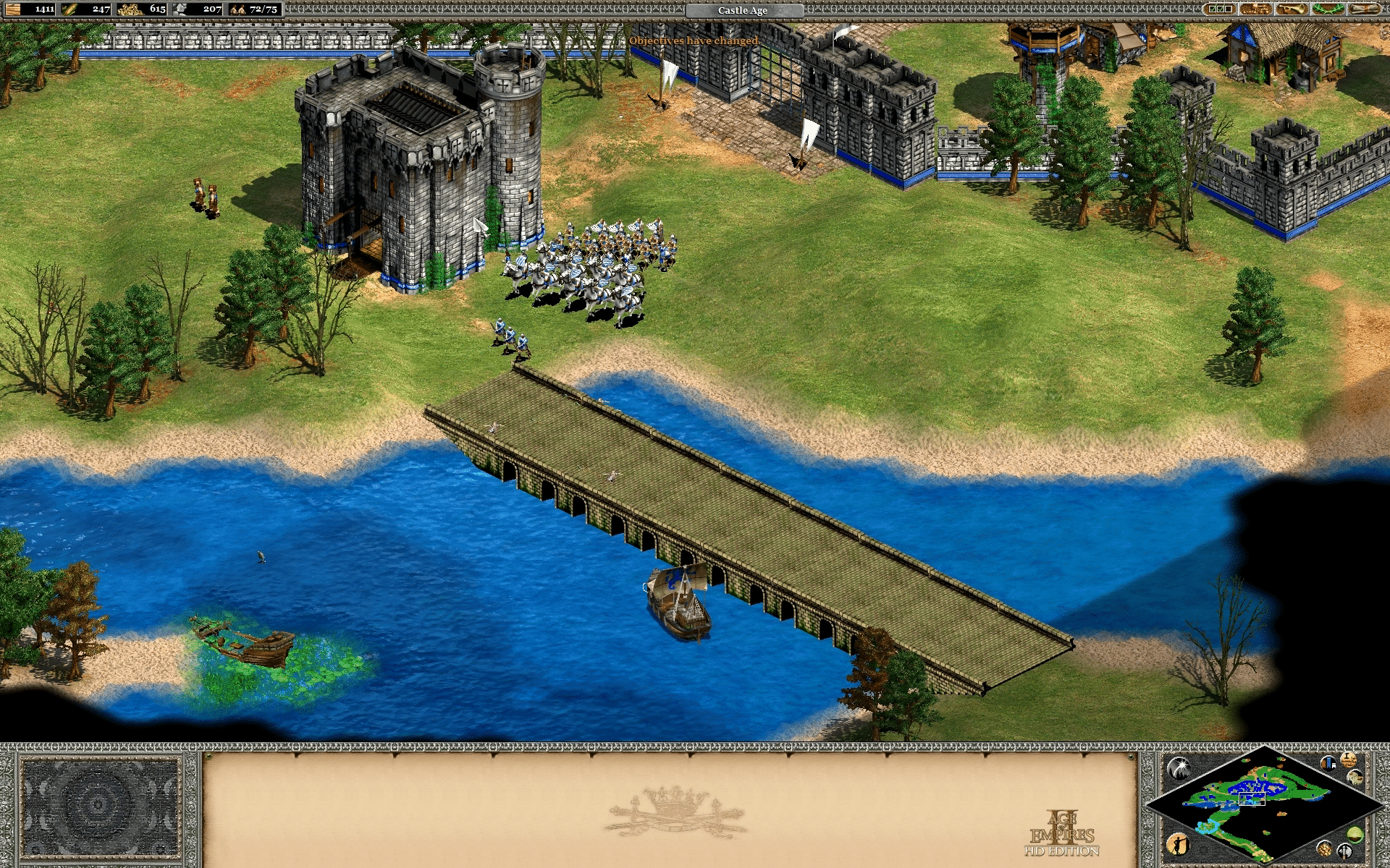 Age of Empires II: Age of Kings - Joan of Arc French Campaign - Mission 02: The Maid of Orleans