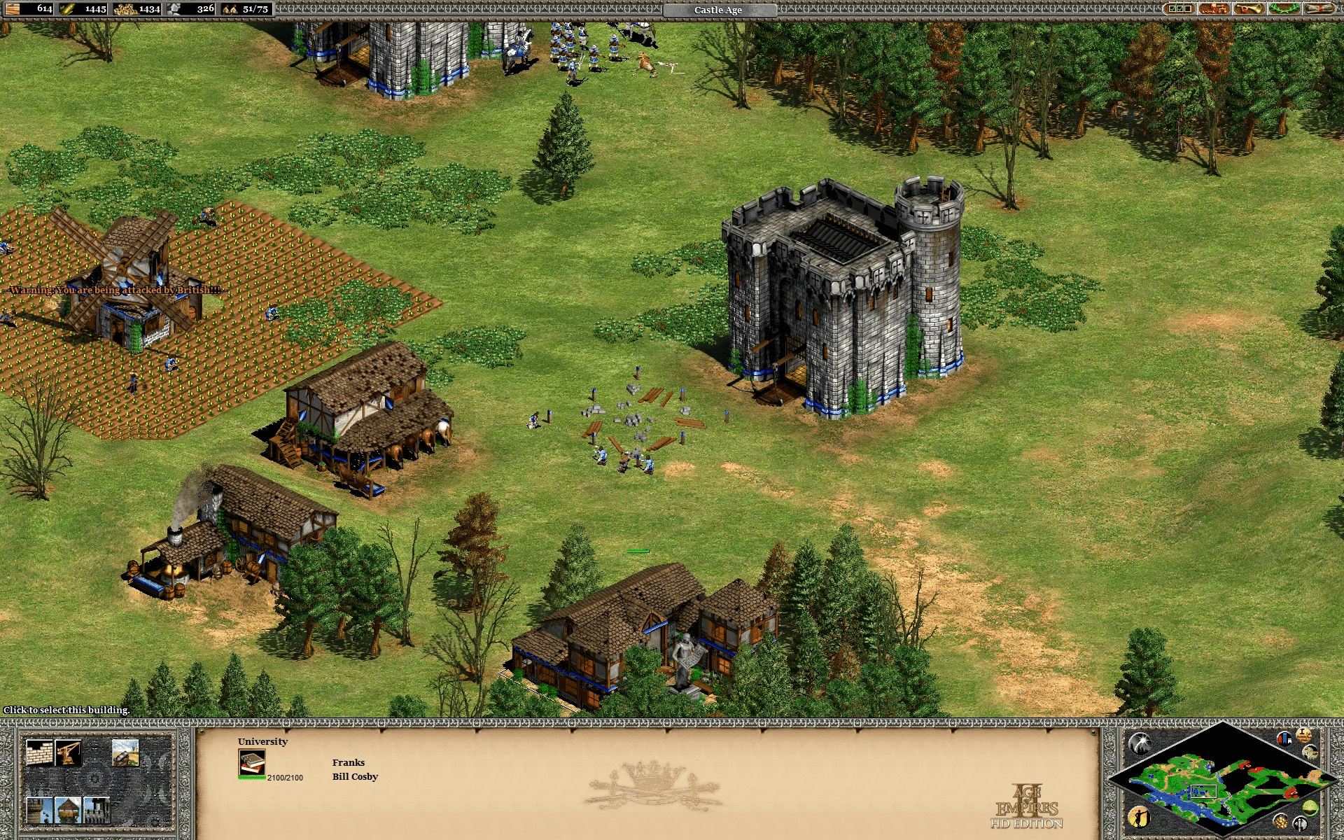 Age of Empires II: Age of Kings - Joan of Arc French Campaign - Mission 03: The Cleansing of the Loire