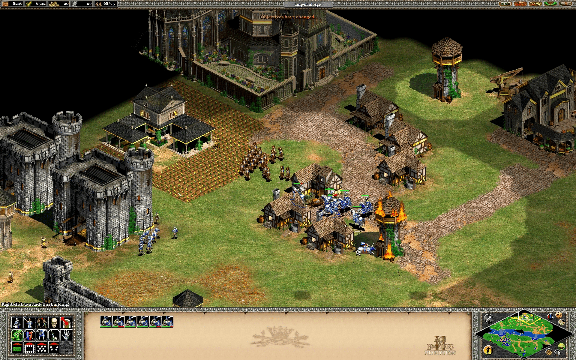 Age of Empires II: Age of Kings - Joan of Arc French Campaign - Mission 04: The Rising
