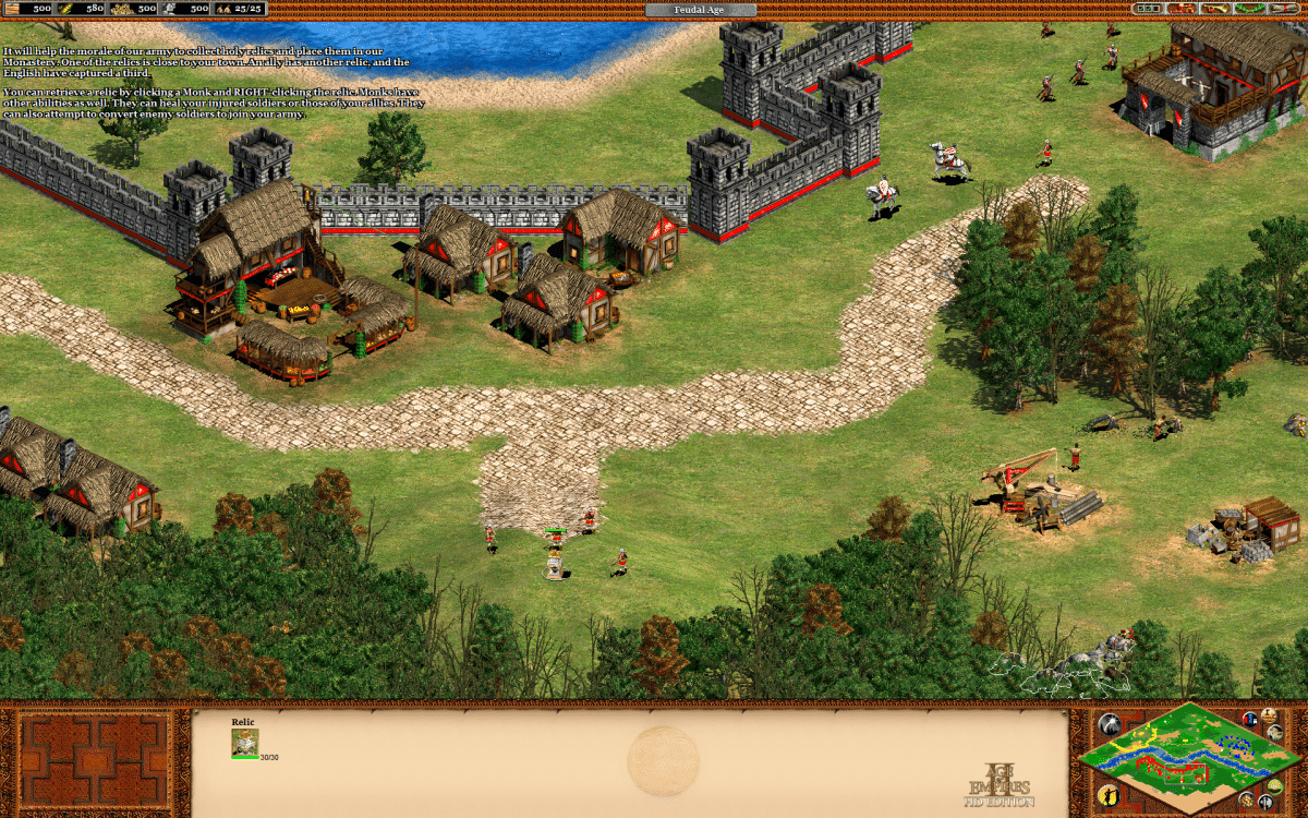 Age of Empires II: Age of Kings - William Wallace Campaign - Mission 06 Forge an Alliance