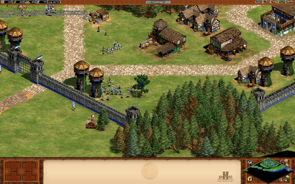 Age of Empires II: Age of Kings - William Wallace Campaign - Mission 07 The Battle of Falkirk