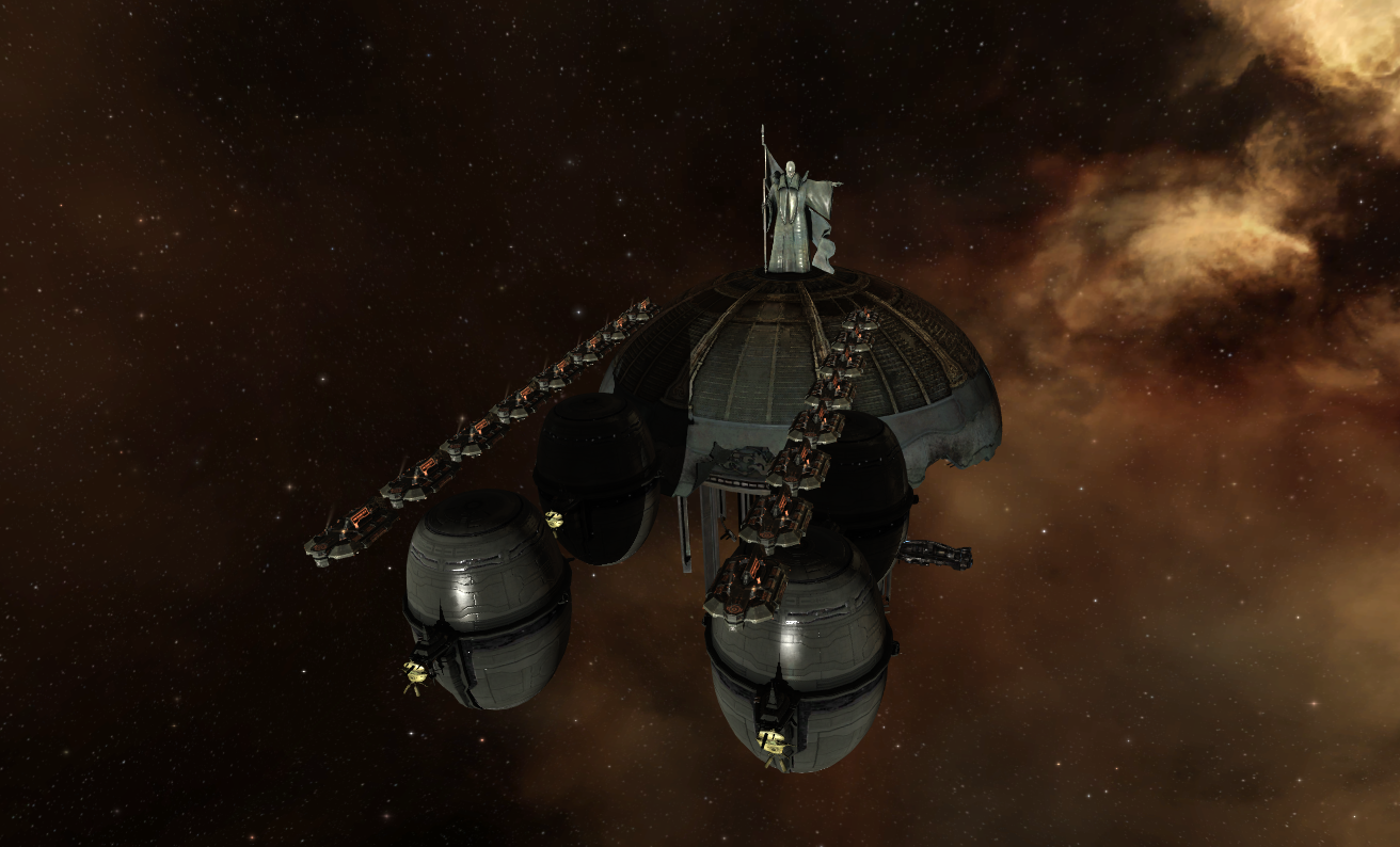 """""""EVE Online"""" - Amarr Cosmos No Sincerer Love - Civic Court Plaza in Aphi"""