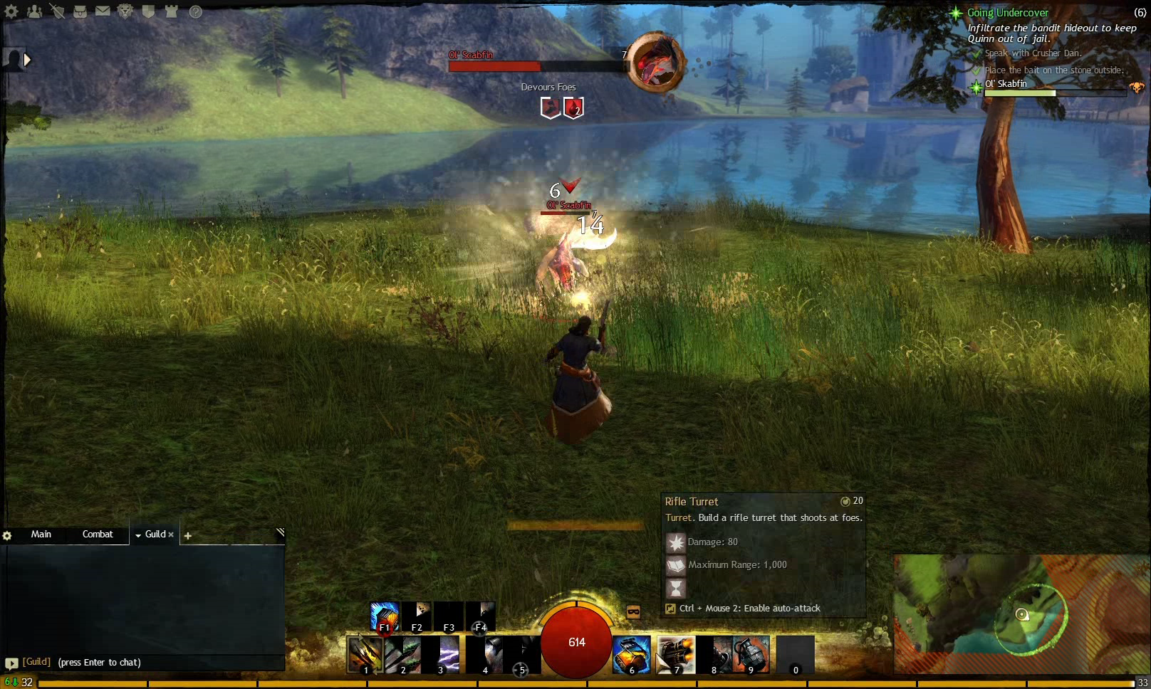 Guild Wars 2 - Quest Guide - Going Undercover - Human Street Rat