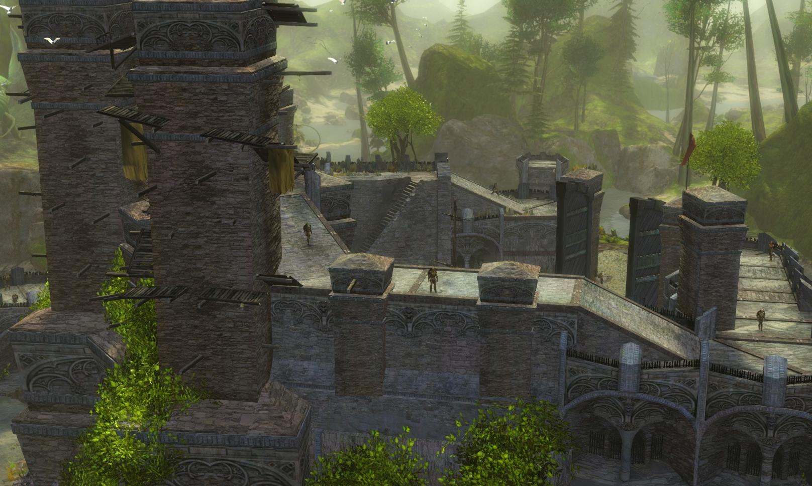 Guild Wars 2 - Vistas in Caledon Forest - 02 Queztal Bay