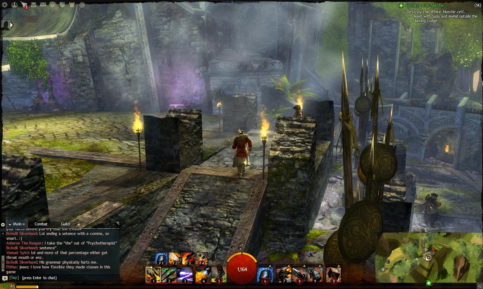 Guild Wars 2 - Vistas in Caledon Forest - 07 Trader's Green