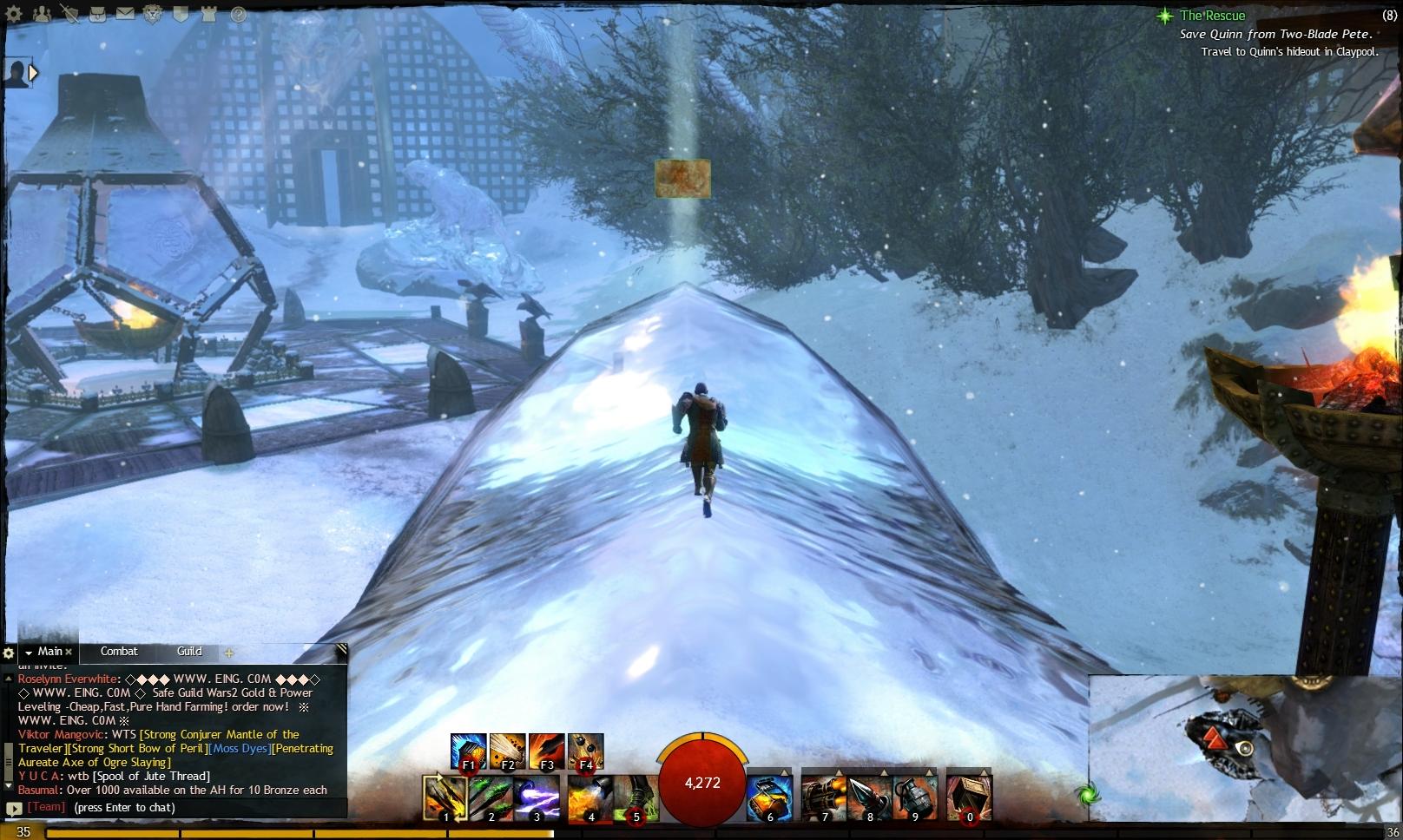 Guild Wars 2 - Vistas in Hoelbrak - 01 Bear Lodge