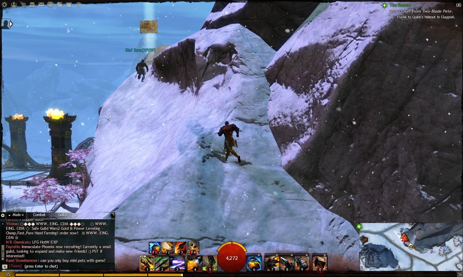 Guild Wars 2 - Vistas in Hoelbrak - 02 Frost Basin