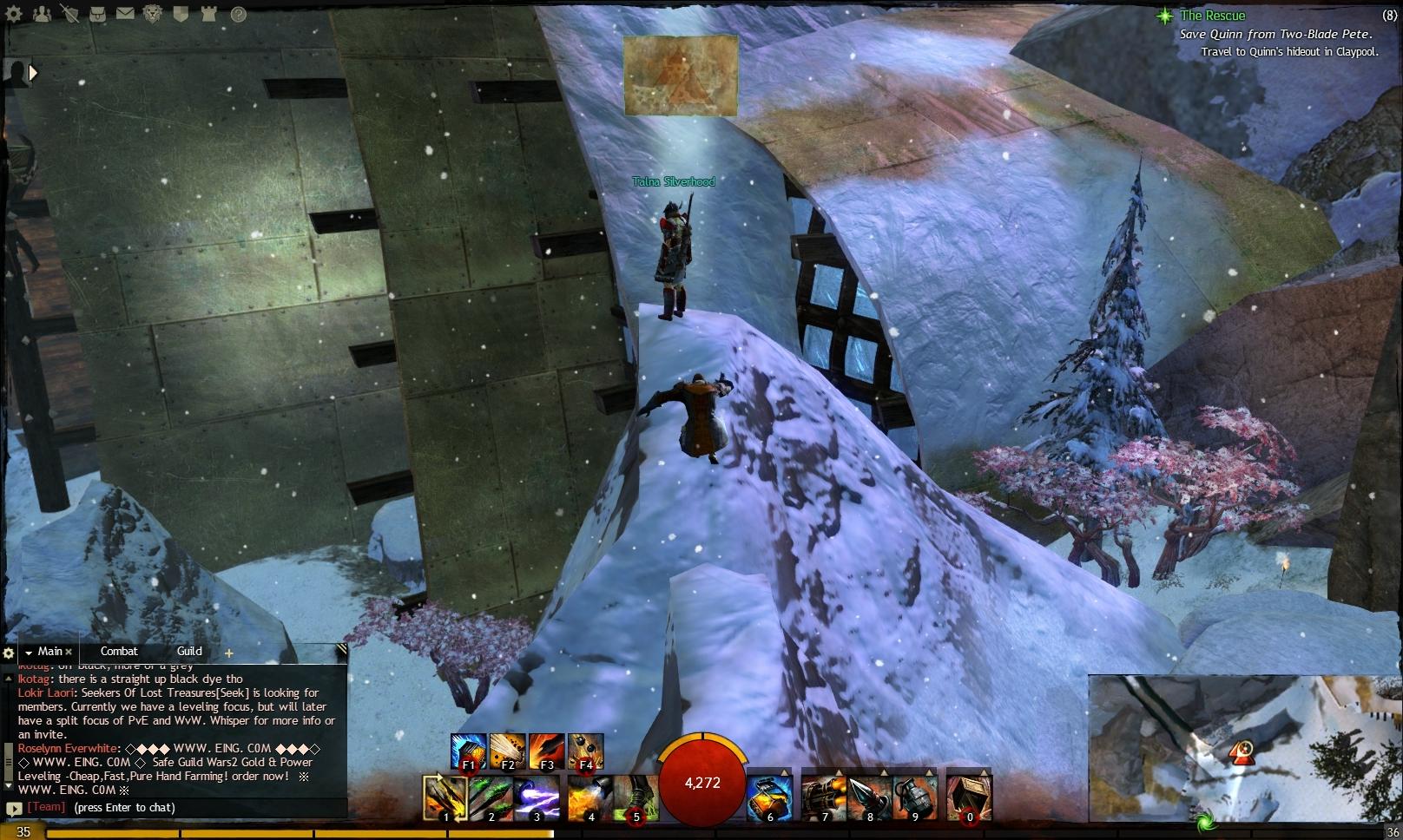 Guild Wars 2 - Vistas in Hoelbrak - 04 Snow Leopard Lodge