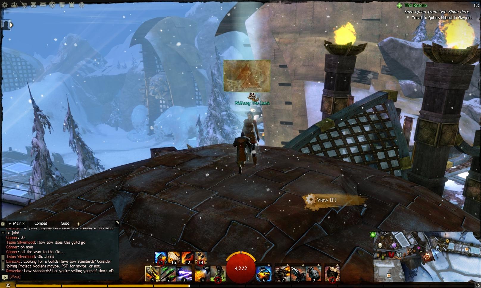 Guild Wars 2 - Vistas in Hoelbrak - 05 Southern Watchpost
