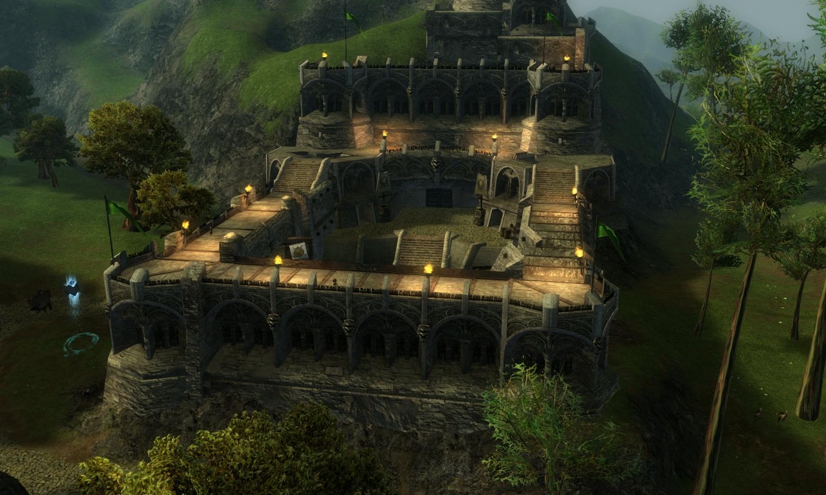 Guild Wars 2 - Vistas in Kessex Hills - 05 Giant's Passage