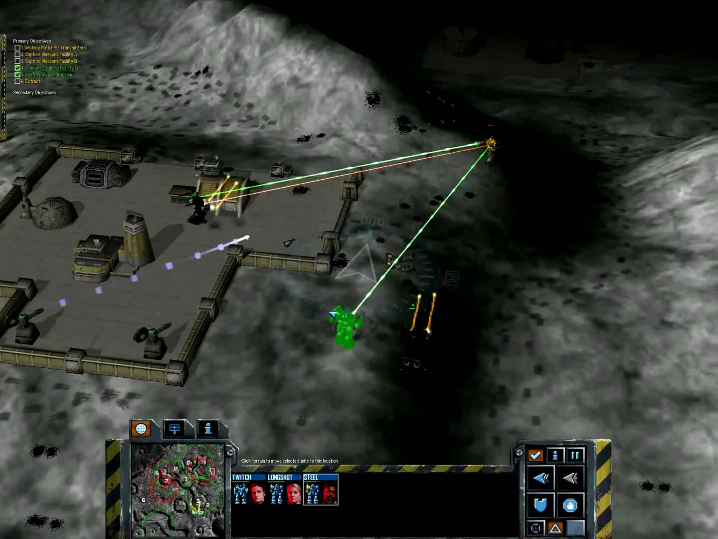 MechCommander 2 - Liao Campaign - Mission 3 - Remote Assault: Eclipse