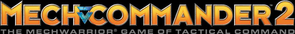 MechCommander 2 Logo Bar - Transparent
