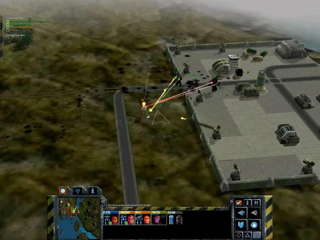 MechCommander 2 - Steiner Campaign - Mission 4 - Search & Destroy: Bandit Convoy