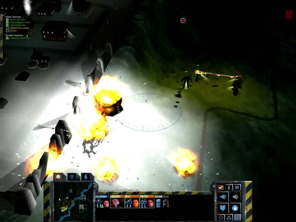 MechCommander 2 - Steiner Campaign - Mission 5 - Night Ops: Liao Raid