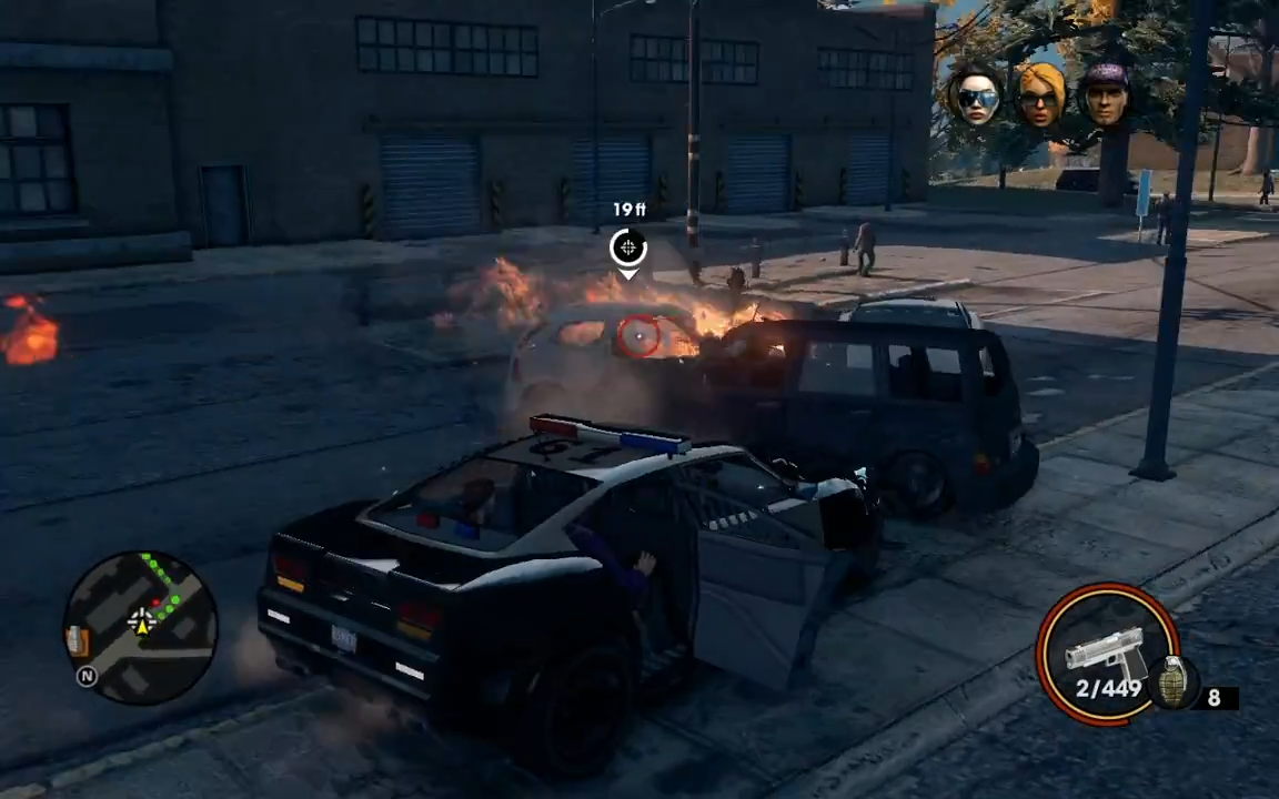 """Michael: Got Pulled Over Again - """"Saints Row: The Third"""" Assassination"""