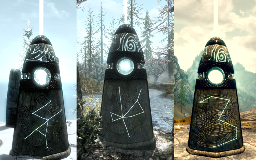 Activated Standing Stones