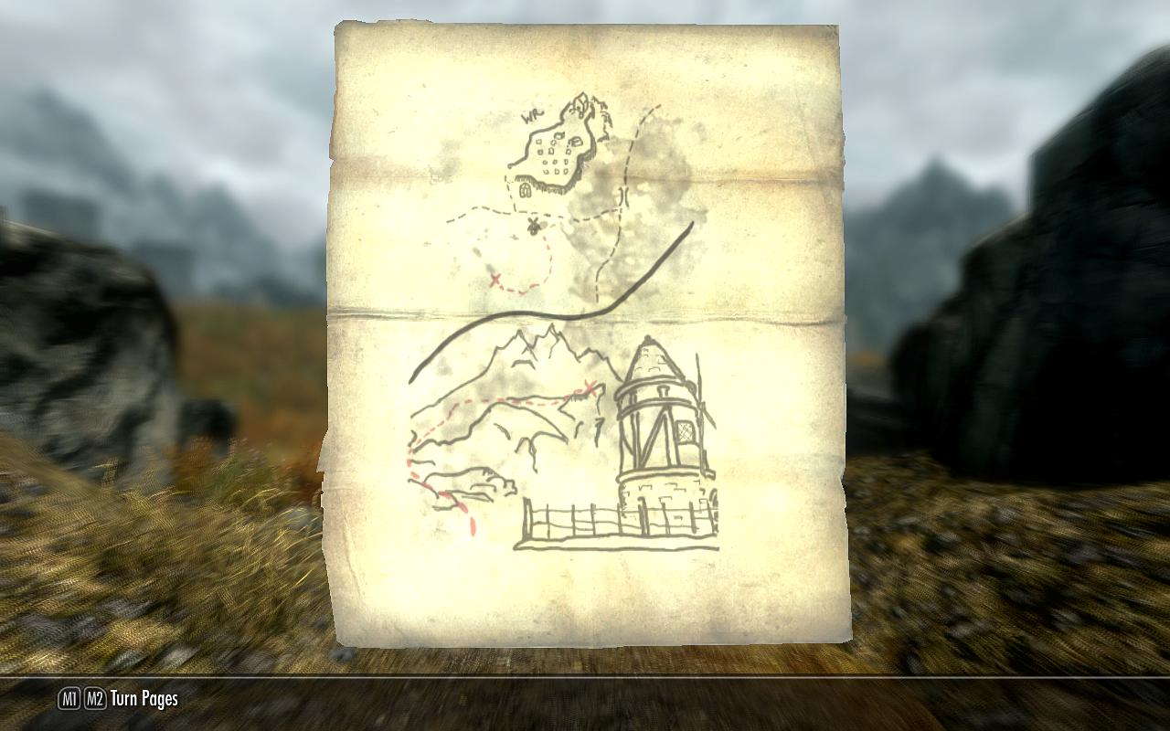 Treasure Map Iv