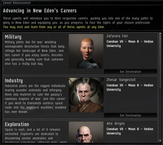 Beginner Career Arcs